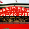 Today's daily travel photo is an outside shot of Wrigley Field - the home of the Chicago Cubs Major League Baseball team - Chicago, Illinois.