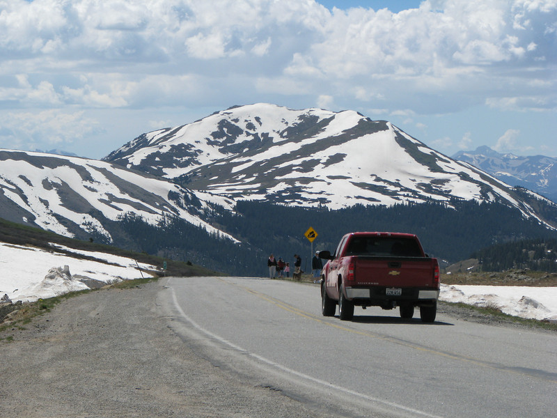 Continental Divide in July