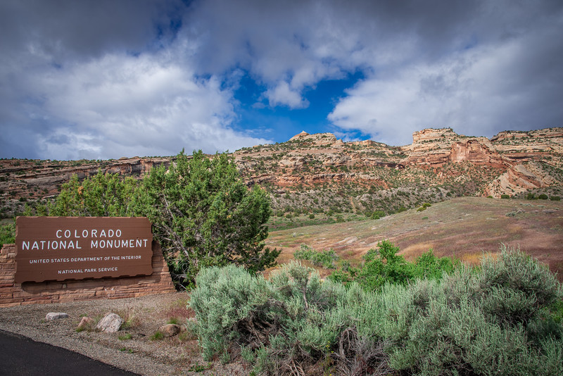 colorado national monument east entrance
