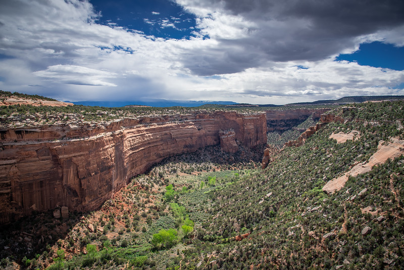 fallen rock colorado national monument