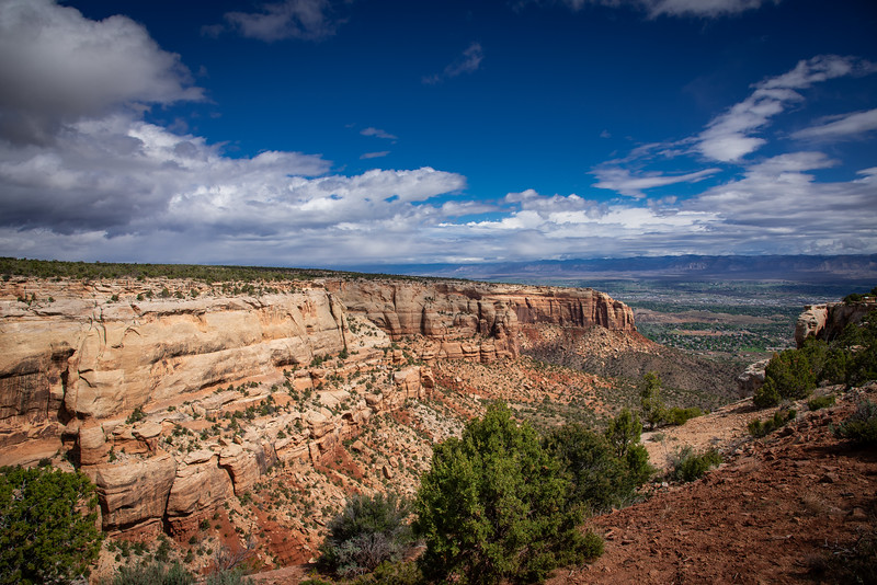 red canyon overlook