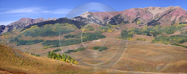 Crested Butte Gunnison National Forest Colorado Ranch Landscape Western Art Prints For Sale - 007625 - 15-09-2010 - 11326x4481 Pixel