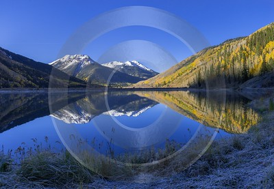 Ouray Crystal Lake Red Mountain Pass Colorado Autumn View Point Art Photography For Sale Order - 014732 - 06-10-2014 - 9407x6514 Pixel