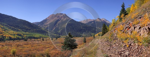 Ouray Red Mountain Pass Crystal Lake Colorado Landscape Fine Art Photography Prints For Sale - 008208 - 19-09-2010 - 10632x4100 Pixel
