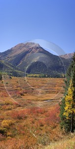 Ouray Red Mountain Pass Crystal Lake Colorado Landscape Tree Fine Art Photography Gallery - 008209 - 19-09-2010 - 4277x8436 Pixel