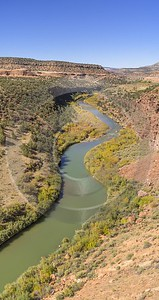 Dolores River Uravan Colorado Stream Red Canyon Modern Wall Art Royalty Free Stock Images Shoreline - 022012 - 15-10-2017 - 7686x14531 Pixel