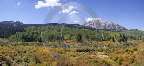 Crested Butte Kebler Pass Gunnison National Forest Colorado Fine Art Photography Galleries Leave - 007572 - 15-09-2010 - 9171x4191 Pixel