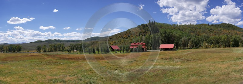 Redstone Mcclure Pass Country Road Hi Resolution Colorado Ranch Art Photography For Sale - 007334 - 13-09-2010 - 11768x4092 Pixel