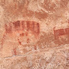 Pictograph, probably from the Fremont people who lived in this side canyon off the Green River