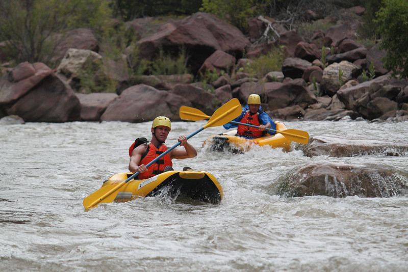 Kayakers on the Green River