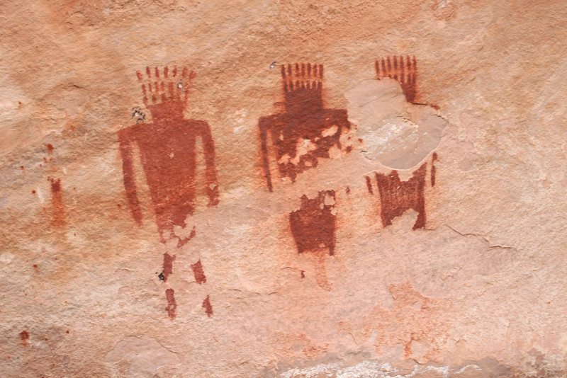 Pictographs in Dinosaur National Monument