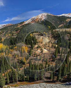 Ouray Red Mountain Pass Million Dollar Highway Colorado Spring Art Prints For Sale Sea - 014696 - 06-10-2014 - 6582x8067 Pixel