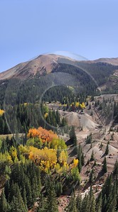 Ouray Red Mountain Pass Colorado Landscape Autumn Color Stock Image Fine Arts Photography - 008238 - 19-09-2010 - 4161x7505 Pixel