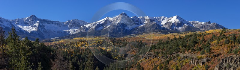 Ridgway Country Road Prints Colorado Mountain Range Autumn Fine Art Landscape Photography Senic - 014435 - 13-10-2014 - 20967x6126 Pixel