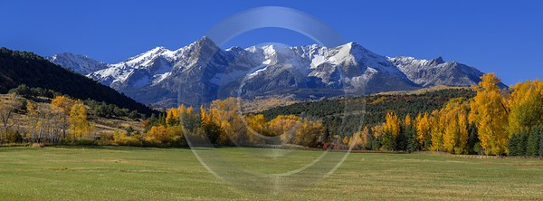 Ridgway Country Road Stock Image Colorado Mountain Range Autumn Fine Art Fotografie Fine Art Foto - 014437 - 13-10-2014 - 17690x6535 Pixel
