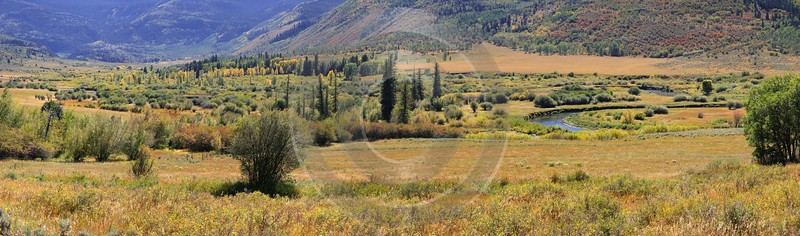 Meeker Ripple Creek Pass Country Road Fine Art Photography Prints Colorado Nature Sky - 008472 - 21-09-2010 - 13519x3987 Pixel