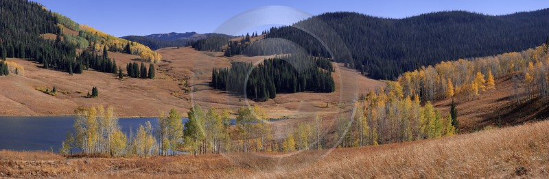 Meeker Ripple Creek Pass Vaugham Lake Country Road Fine Art Posters Island Images Fog Country Road - 008499 - 21-09-2010 - 11917x3901 Pixel