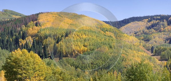 Meeker Ripple Creek Pass Country Road City Colorado Fine Art Photography Prints For Sale - 008451 - 21-09-2010 - 8716x4147 Pixel