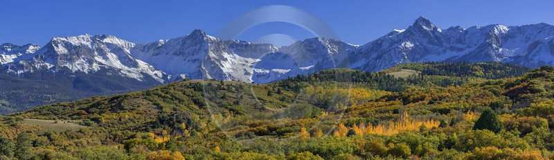Ridgway San Juan Skyway Road Colorado Mountain Range Art Photography For Sale Order Country Road - 014861 - 04-10-2014 - 25076x7228 Pixel