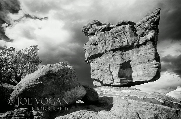 Balanced Rock, Garden of the Gods, Colorado Springs, Colorado