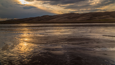 Great Sand Dunes NP, sunset #1