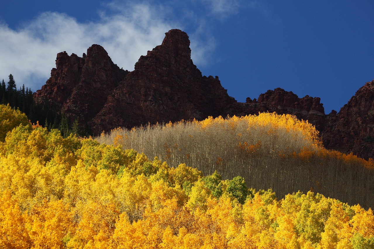Sievers Mountain, Maroon Bells