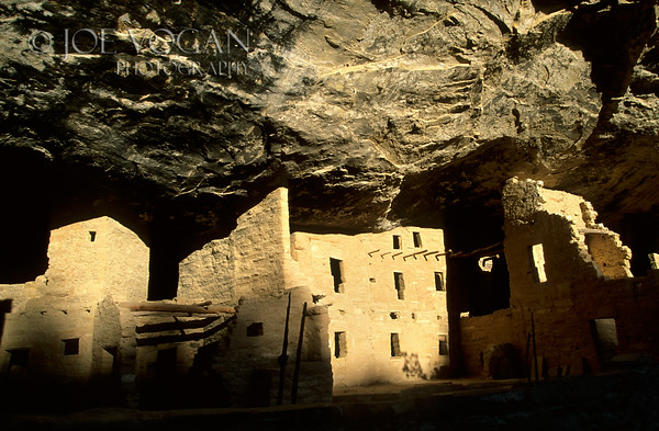 Spuce Tree House, Anasazi Ruins, Mesa Verde National Park, Color