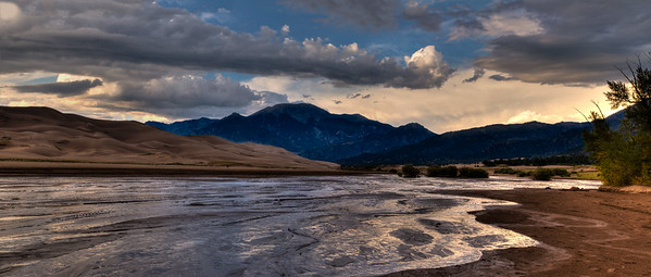 Great Sand Dunes NP, sunset #2