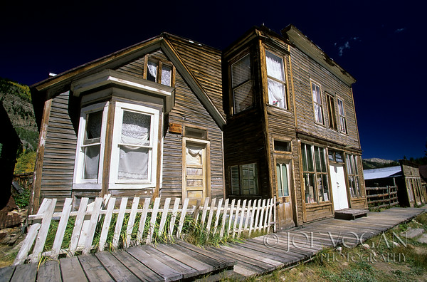 St. Elmo Ghost Town, Colorado, Founded 1880