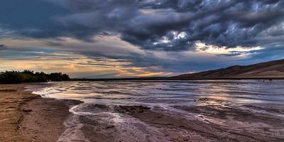 Great Sand Dunes NP, sunset #3