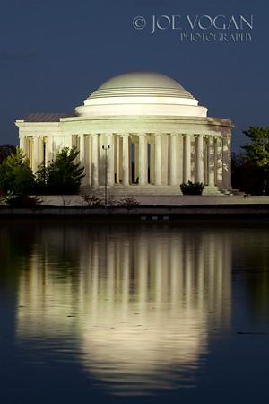 Jefferson Memorial, Tidal Basin, West Potomac Park, Washington, D.C.