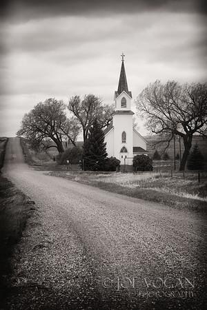 Sims Lutheran Church, Sims, North Dakota (Morton County)