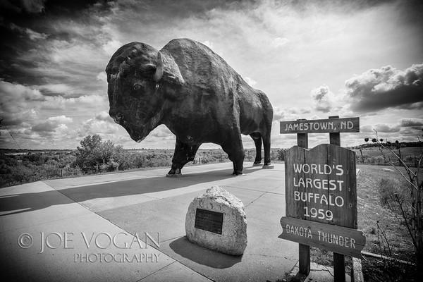 Buffalo Statue, Jamestown, North Dakota