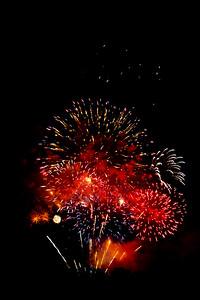 Fireworks in a dark sky, #5