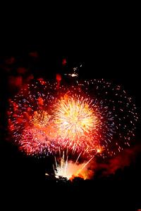 Fireworks in a dark sky, #3