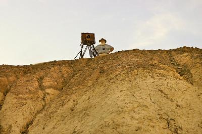 Clyde Butcher, landscape photograph in Golden Canyon