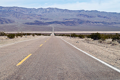 Route 365 heading for Death Valley