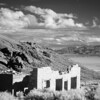 Rhyolite Ghost Town at sunset