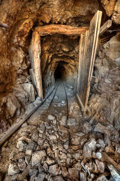 Death Valley mine entrance