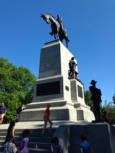 Statue of Civil War General William Tecumsah Sherman