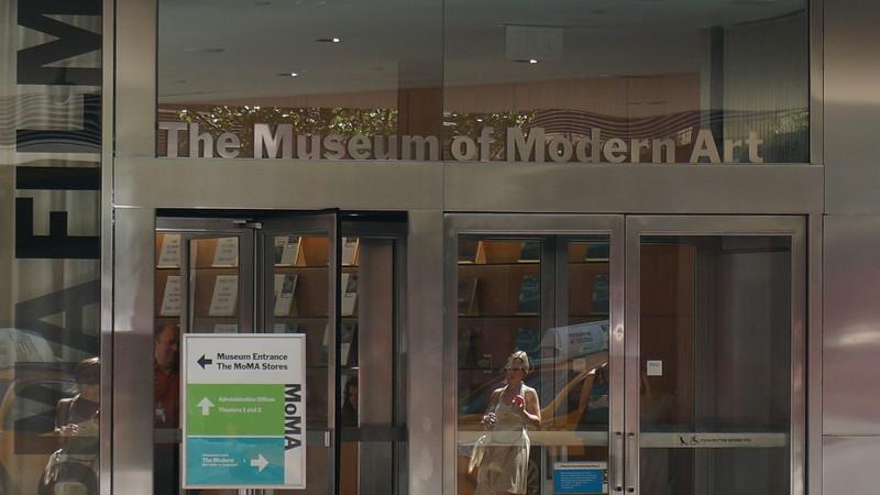 MOMA... pas eu le temps, une prochaine fois.