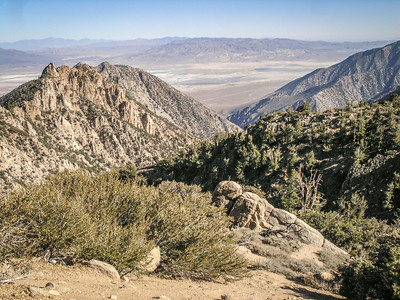 Whitney Portal above Lone Pine