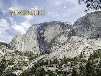 Yosemite - Half Done