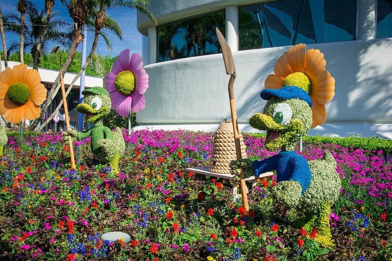 epcot flower festival