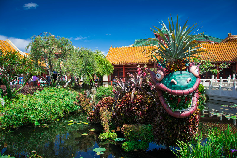 chinese dragon epcot