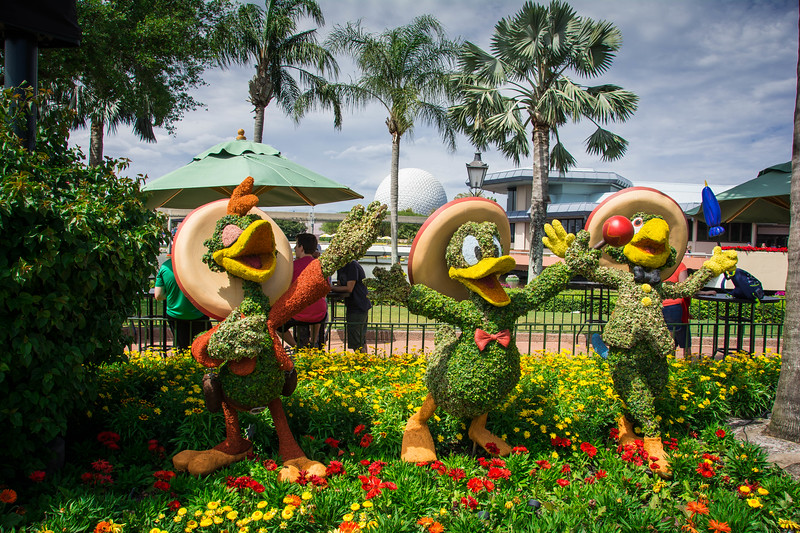three caballeros epcot