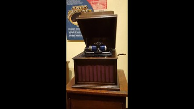 Early phonograph and recording