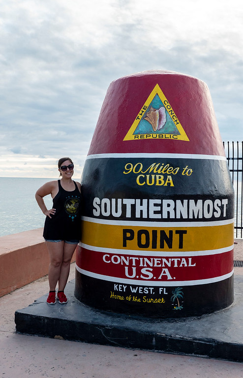 Florida Keys Road Trip - Southernmost Point in Key West