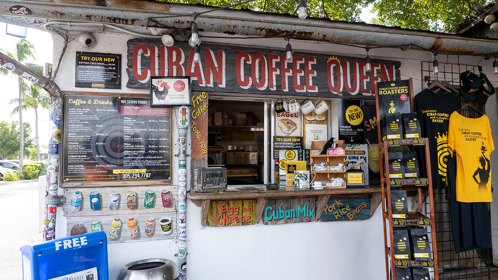 Things to do in Key West Florida: Cuban Coffee Queen