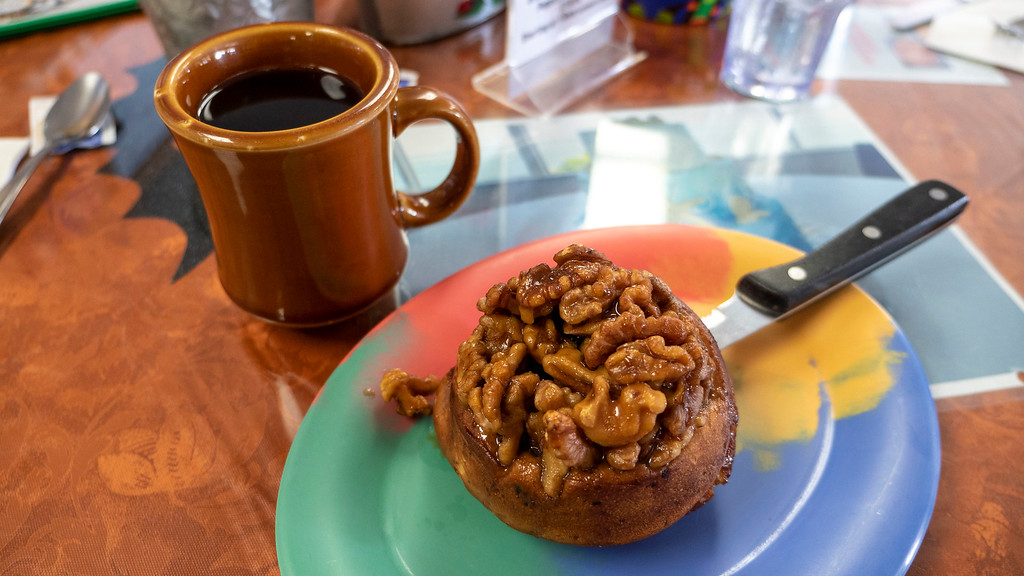 Vegan breakfast at Bob's Bunz Islamorada